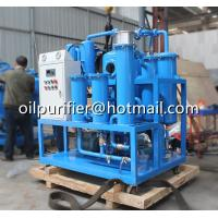 China Hydraulic Oil Purification Filtration Machine, Hydraulic Turbine Oil Purifier with KARACHI Oil Pump and HOKAIDO Vacuum on sale