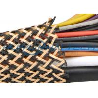 Wholesale PET Insulated Expandable Braided Sleeving For Flame Retardant Flexo Cable from china suppliers