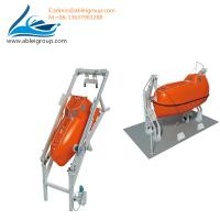 Wholesale FRP Material Totally Enclosed Type 15 People Free-Fall Lifeboat Including Davit With CCS Class from china suppliers