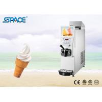 Single Flavor Soft Serve Freezer With Food Grade Stainless Steel Beater for sale