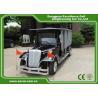CE Approved Vintage Golf Carts Enclosed Type 80KM Range DC System for sale