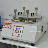 China Martindale Abrasion Textile Testing Equipment / Pilling Tester Machine For Testing The Wearing Resistance on sale