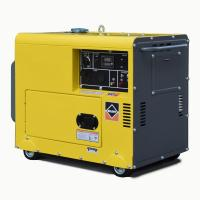 Single Phase Portable Gasoline Generator Silent 3kVA 5kva 3000rpm Air Cooled for sale