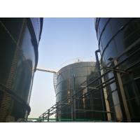 Industry Glass Coated Steel Tanks , Glass Lined Water Storage Tanks AWWA D103 - 09
