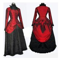 Wholesale Medieval Dress Wholesale XXS to XXXL Renaissance Medieval Elegant ROCOCO Punk Gothic Red Ball Dress Cosplay from china suppliers