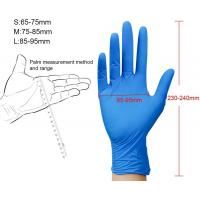 Wholesale Blue Color Disposable Medical Latex Surgical Gloves Protection Nitryl Nitrile from china suppliers