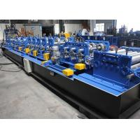 Wholesale Galvanized Steel C Z Purlin Roll Forming Machine 1.5 - 3.0mm Feeding Thickness from china suppliers