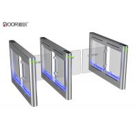 Wholesale Single Body Supermarket Swing Gate / Intelligent Automated Turnstiles from china suppliers