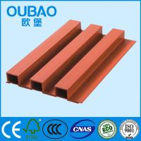China eco - friendly 202 * 30mm CE SGS ISO FSC certified  wood plastic composite WPC wall panels on sale