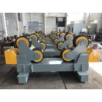 Wholesale 20T Self Aligning Pipe Rollers Heavy Duty Pipe Turning Rolls Simple Structure from china suppliers