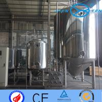Steam Electric Heating Stainless Steel Fermentation Tanks Dairy