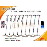 Quality Floral Handle Folding Cane for sale