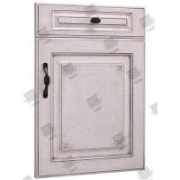 Wholesale Moistureproof White Wooden Moulded Doors With Lock , Handle And Hinges from china suppliers
