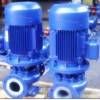 China GBF Vertical fluorine plastic lined centrifugal pump corrosion resistant pump on sale