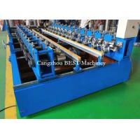 China 1250mm & 1000mm Adjustable Roofing Sheet Roll Forming Machine Hydraulic Cutting for sale