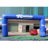 Wholesale Full digital printing outdoor blue Roma advertising inflatable arch for promotion activities from china suppliers