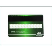 China High Frequency Membership PVC Card , Custom Mag Stripe Cards Matte Finished for sale