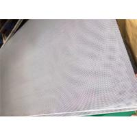 Wholesale Punching Wire Mesh With Small Round Hole For Screening / Perforated Metal from china suppliers