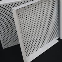 Wholesale Fireproof Lay In Ceiling Tiles E Shape Hook On 3003 Perforated Aluminum Alloy from china suppliers