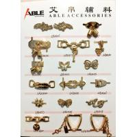 Wholesale Zinc alloy women's bow buckle surface inlaid crystal for Shoe bag from china suppliers