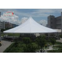 Wholesale Waterproof White Color High Peak Tents / Wedding Reception Tent For Outdoor Event Party from china suppliers