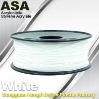 Wholesale ASA 3D Printer Filament Ultraviolet Resist 1.75 / 3.0mm Black White Colors from china suppliers