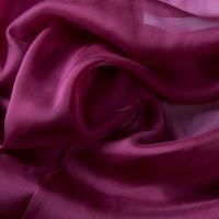 China 2015 New Style Dahlia Purple 140cm Width Chiffon Silk Fabric Bulk Sale on sale