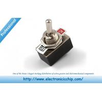 China SPST Toggle Switch Electronic Component Parts Electrical For Light on sale