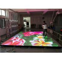 Wholesale Interactive Eye - Catching Stage LED Display With Flexible , Flat And Sturdy Surface from china suppliers