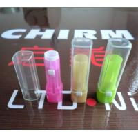 China OEM ODM silk screen painting paper label and plastic sticker Customize Lip Balm Containers on sale