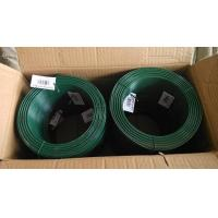 High Flexibility Plastic Coated Chicken Wire Big Coil Black / Yellow / Green