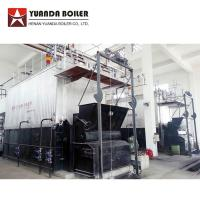 Wholesale Industrial Water Tube 10 Ton Biomass Bagasse Fired Steam Boiler For Sale from china suppliers