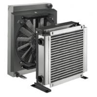 China Hydraulic Lubrication Aluminum Air Cooled Heat Exchanger with DC/AC Fan Driven for sale