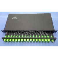 Wholesale Rack Mount 1x8 1x16 1x32 1x64 Optic PLC splitter from china suppliers