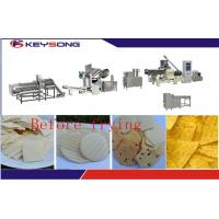 Wholesale Stainless Steel Tortilla Chips Making Machine , Fried Tortilla Chips Production Line Machine from china suppliers
