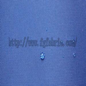 China 420D nylon oxford pu coated DWR for rainwear covers bags HTF-050 on sale