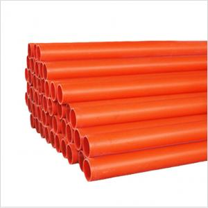 Wholesale Underground Thick 3mm Corrosion Resistant PVC Pipe from china suppliers