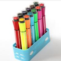 Wholesale Waterproof Multi Color Highlighter Pen With Stamp from china suppliers