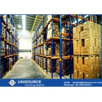 Wholesale Unisource Drive In Pallet Racking Heavy Duty / Medium Duty / Light Duty For Dairy Industry from china suppliers