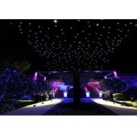 Wholesale Romantic Party Curtain Lights 4m X 10m , Led Curtain Fairy Lights Flame Retardant from china suppliers