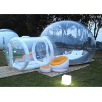 Wholesale Event Inflatable Bubble Hotel Water Resistance With Entrance Tunnel from china suppliers