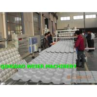 Best Conical Corrugated Roof Sheeting Machine With Double Screw Extruder wholesale