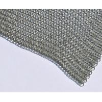 Wholesale 3.81mm Ring Diameter Stainless Steel Ring Wire Mesh Chainmail Sheet from china suppliers