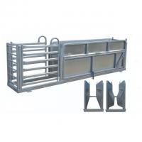 Wholesale Heavy Duty Portable Cattle Panels Galvanized Sheep Three Way Draft Race from china suppliers