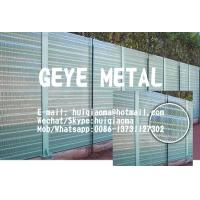 Wholesale Absorptive Metal Noise Barrier, Sound Barrier Wall Panels,Sound-Absorbing (Round Hole Perforated) from china suppliers