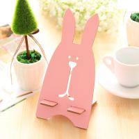 Wholesale 76g Rabbit Shaped Wooden Universal Desktop Magnet Holder for Mobile Phone from china suppliers