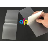 Wholesale Card Membrane Clear Laminating PouchesFilm Different Thickness Optional from china suppliers