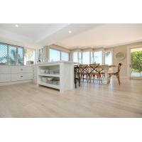 China Popular color stain in Australian--oak floating timber flooring on sale