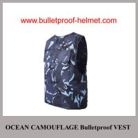 Wholesale Wholesale Cheap China NIJ Army Ocean Camouflage Military Police Bulletproof Vest from china suppliers