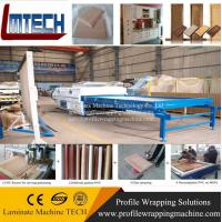 pvc wood veneer Vacuum membrane press machine for doors making for woodworking with two wo for sale